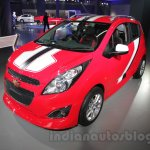 Chevrolet Beat special edition front right three quarter at 2016 Auto Expo