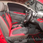 Chevrolet Beat special edition front seats at 2016 Auto Expo