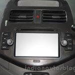 Chevrolet Beat special edition infotainment system at 2016 Auto Expo