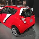 Chevrolet Beat special edition rear left three quarter at 2016 Auto Expo