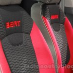 Chevrolet Beat special edition seat embroidery at 2016 Auto Expo