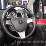 Chevrolet Beat special edition steering wheel at 2016 Auto Expo