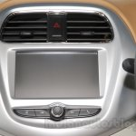 Chevrolet Essentia Concept infotainment system