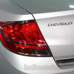 Chevrolet Sail special edition at taillamp 2016 Auto Expo