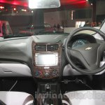 Chevrolet Sail special edition dashboard at 2016 Auto Expo