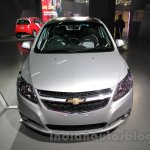 Chevrolet Sail special edition front at 2016 Auto Expo