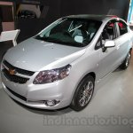 Chevrolet Sail special edition front right three quarter at 2016 Auto Expo