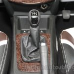 Chevrolet Sail special edition gearknob at 2016 Auto Expo