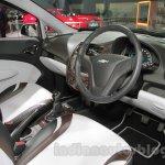 Chevrolet Sail special edition interior at 2016 Auto Expo