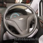 Chevrolet Sail special edition steering wheel at 2016 Auto Expo