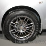 Chevrolet Sail special edition wheel at 2016 Auto Expo