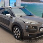 Citroen C4 Cactus Rip Curl front three quarter at the 2016 Geneva Motor Show Live