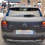 Citroen C4 Cactus Rip Curl rear at the 2016 Geneva Motor Show Live