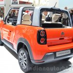 Citroen E-Mehari rear three quarter at the Geneva Motor Show Live