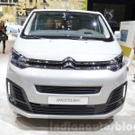 Citroen SpaceTourer front at the 2016 Geneva Motor Show Live