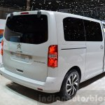Citroen SpaceTourer rear three quarter at the 2016 Geneva Motor Show Live