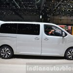 Citroen SpaceTourer side at the 2016 Geneva Motor Show Live