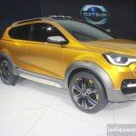 Datsun Go Cross Concept front three quarter view at Auto Expo 2016