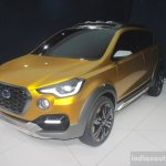 Datsun Go Cross Concept front three quarters at Auto Expo 2016