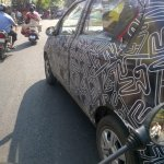 Datsun Redi-Go doors spied with camouflage