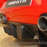 Ferrari 488 GTB exhaust