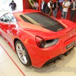Ferrari 488 GTB rear left three quarter