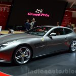 Ferrari GTC4Lusso front three quarter at the 2016 Geneva Motor Show Live
