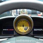Ferrari GTC4Lusso instrument cluster at the 2016 Geneva Motor Show Live