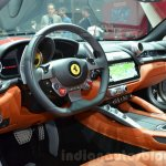 Ferrari GTC4Lusso interior at the 2016 Geneva Motor Show Live