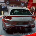 Ferrari GTC4Lusso rear quarter at the 2016 Geneva Motor Show Live