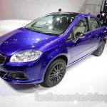 Fiat Linea 125s front three quarters right at Auto Expo 2016