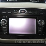 Fiat Linea 125s infotainment at Auto Expo 2016