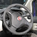 Fiat Linea 125s steering wheel at Auto Expo 2016