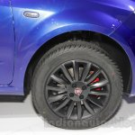 Fiat Linea 125s wheel at Auto Expo 2016