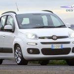 Fiat Panda facelift rendering
