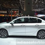 Fiat Tipo side profile at Geneva Motor Show 2016