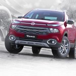 Fiat Toro front quarter launched