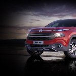 Fiat Toro front three quarter launched