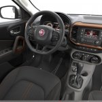Fiat Toro interior launched