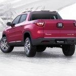Fiat Toro rear quarter launched