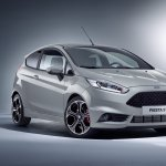 Ford Fiesta ST200 front three quarters press image