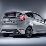 Ford Fiesta ST200 rear three quarters press image
