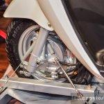Hero Duet-E Combi Braking System CBS at the Auto Expo 2016
