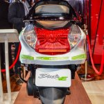 Hero Duet-E rear at the Auto Expo 2016