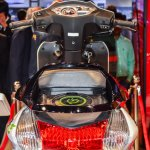 Hero Duet-E tail lamp at the Auto Expo 2016