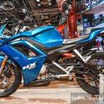 Hero HX250R blue fairing at Auto Expo 2016