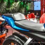 Hero HX250R blue front seat at Auto Expo 2016