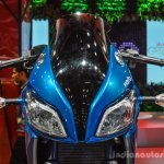 Hero HX250R blue headlamp fairing at Auto Expo 2016