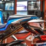 Hero HX250R blue silencer at Auto Expo 2016