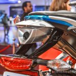 Hero HX250R blue tail lamp at Auto Expo 2016